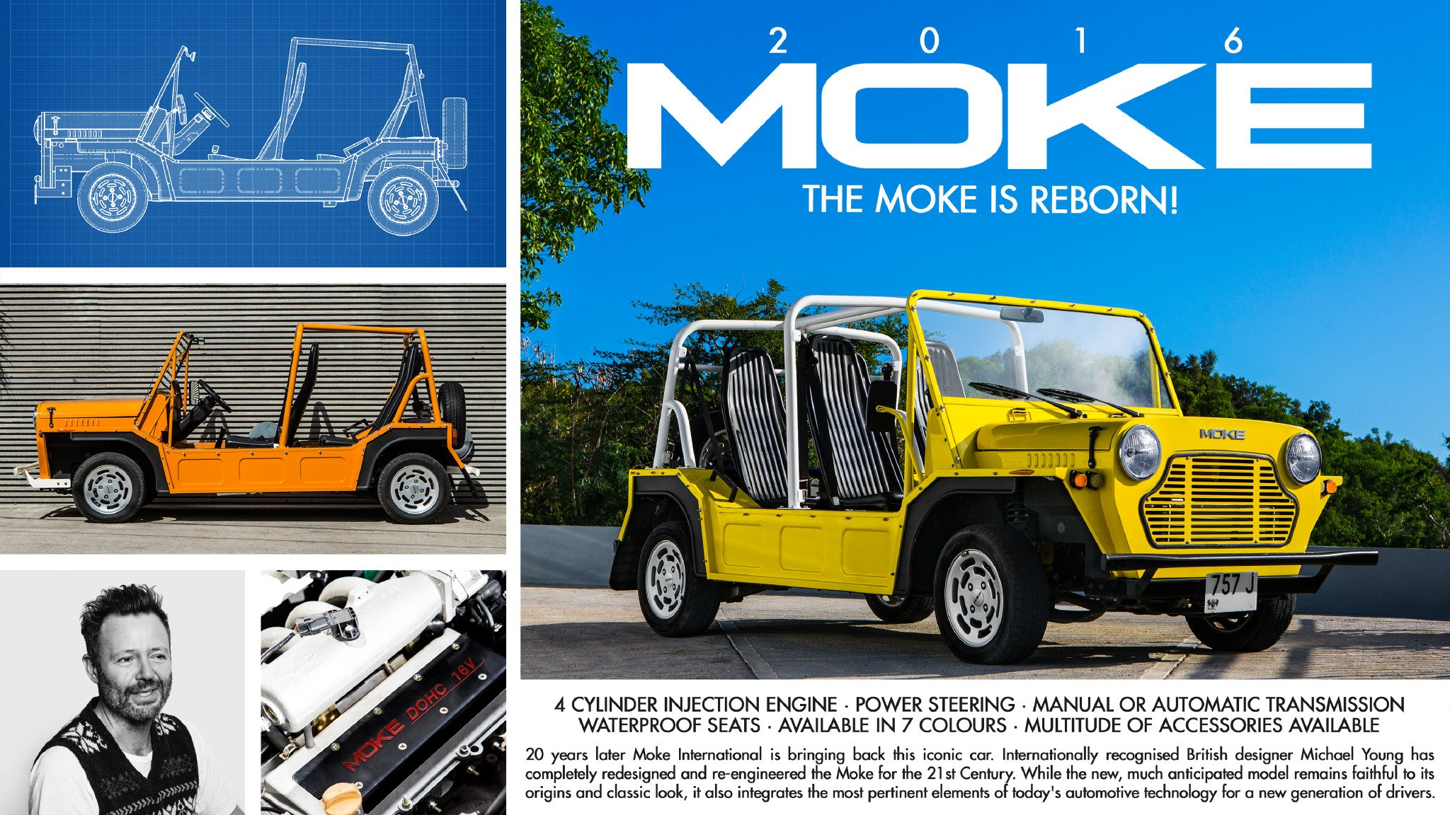 THE MOKE IS REBORN